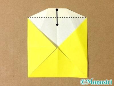 折り紙でグラスボールの折り方10