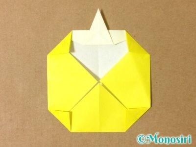 折り紙でグラスボールの折り方12