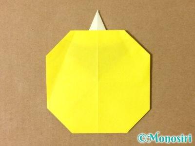 折り紙でグラスボールの折り方13
