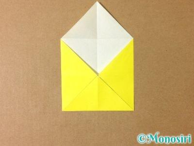 折り紙でグラスボールの折り方3