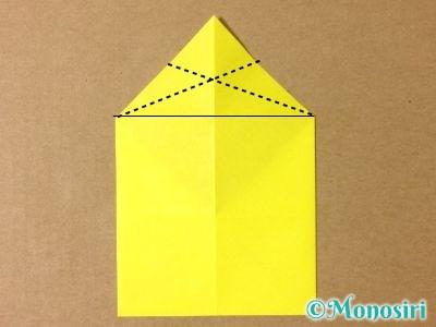 折り紙でグラスボールの折り方4