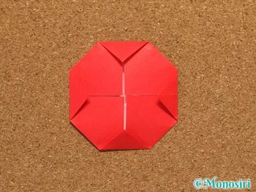 折り紙で柊(ひいらぎ)の折り方15