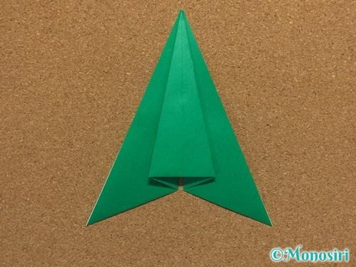 折り紙で簡単なクリスマスツリーの折り方10