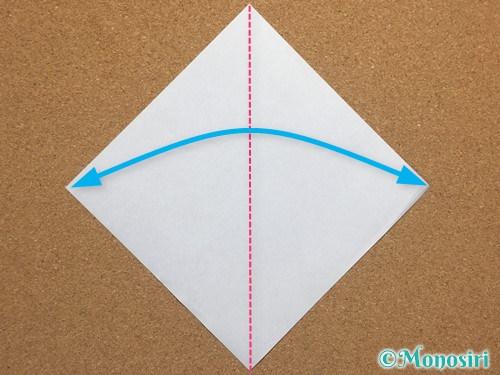 折り紙で簡単なクリスマスツリーの折り方14