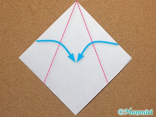 折り紙で簡単なクリスマスツリーの折り方15