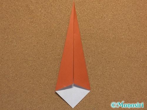 折り紙で簡単なクリスマスツリーの折り方18
