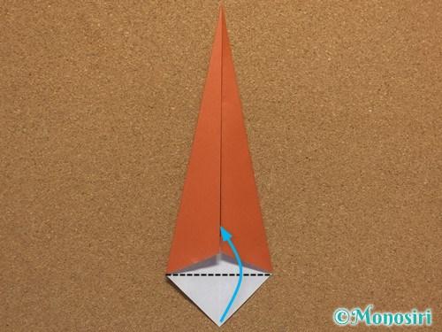 折り紙で簡単なクリスマスツリーの折り方19