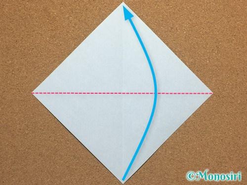 折り紙で簡単なクリスマスツリーの折り方2