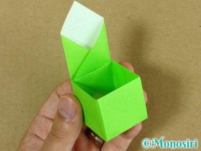 折り紙でプレゼントボックスの折り方14
