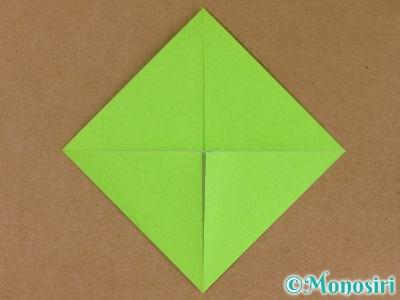折り紙でプレゼントボックスの折り方3