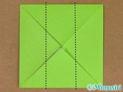 折り紙でプレゼントボックスの折り方4