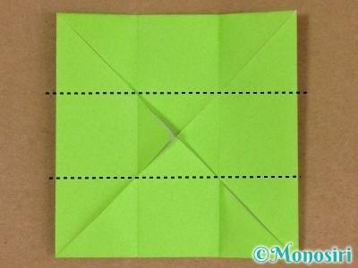 折り紙でプレゼントボックスの折り方5
