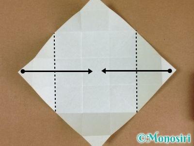 折り紙でプレゼントボックスの折り方7