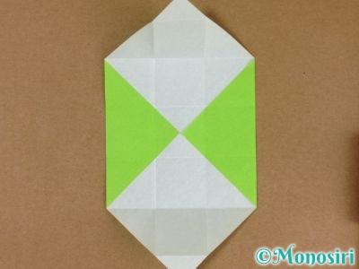 折り紙でプレゼントボックスの折り方8