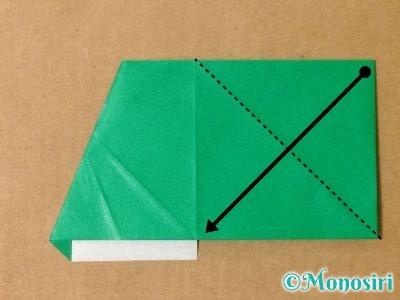 折り紙でサンタクロースの折り方10