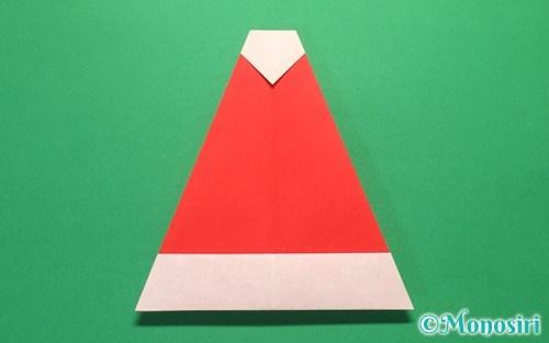 クリスマス 折り紙 サンタ 折り紙 : mono-siri.com