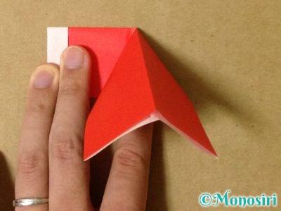 折り紙でサンタブーツの折り方10