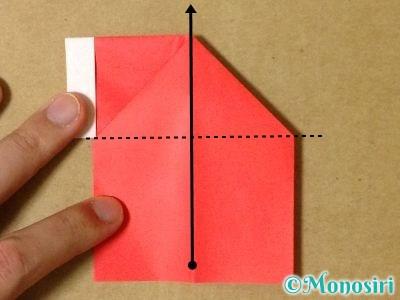 折り紙でサンタブーツの折り方12