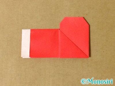 折り紙でサンタブーツの折り方15