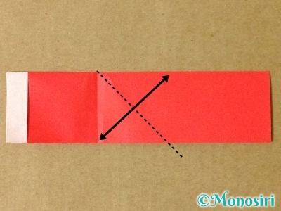 折り紙でサンタブーツの折り方8
