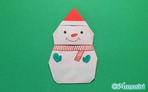 クリスマス 折り紙 折り紙 雪だるま : divulgando.net