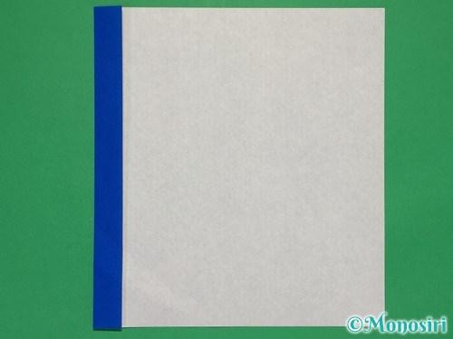折り紙で簡単な紙飛行機の折り方①2