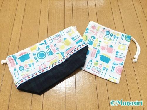 簡単なコップ袋の作り方21