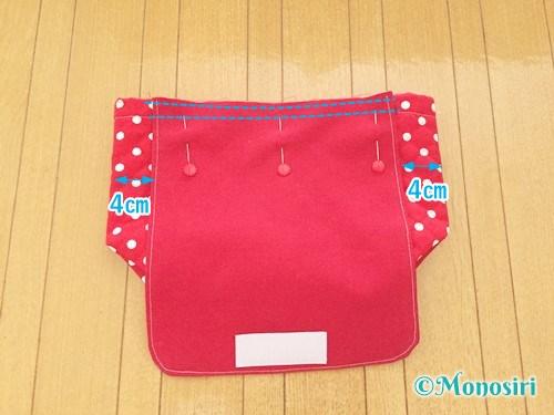 子供用ショルダーバッグの作り方21