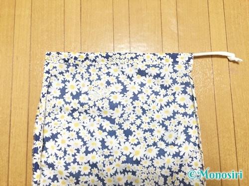 簡単な巾着袋の作り方13