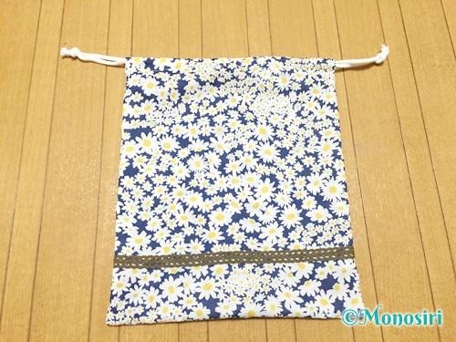 簡単な巾着袋の作り方16