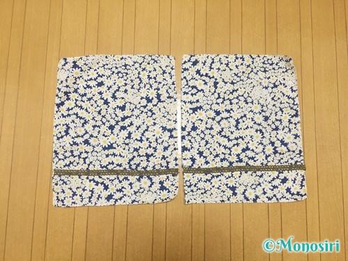 簡単な巾着袋の作り方3