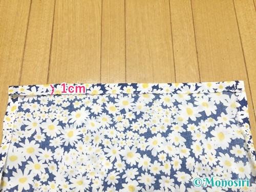 簡単な巾着袋の作り方9