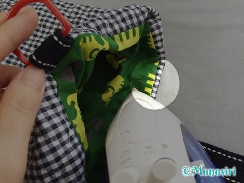 裏地付き上履き入れの作り方17