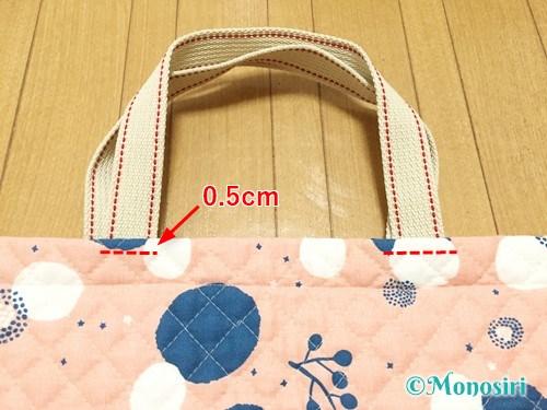 簡単なレッスンバッグの作り方15