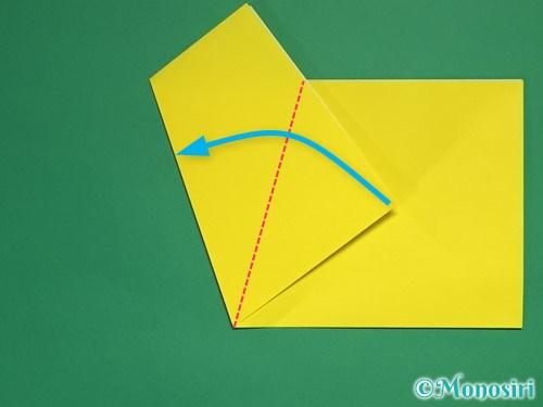 折り紙で星の切り方11