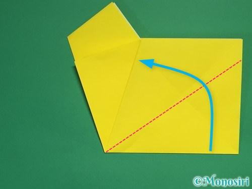 折り紙で星の切り方13