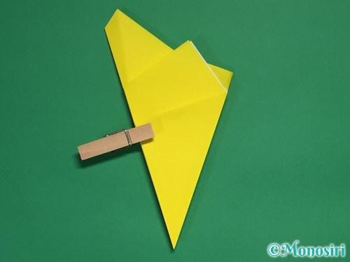 折り紙で星の切り方16