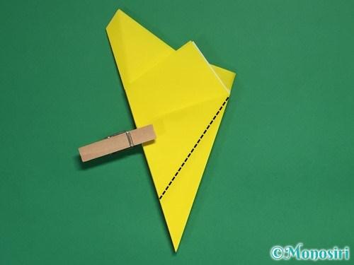 折り紙で星の切り方17