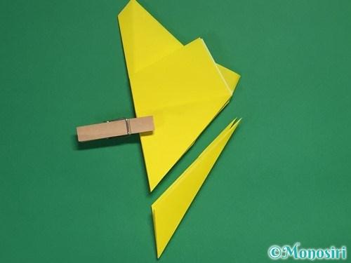 折り紙で星の切り方18