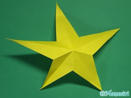 折り紙で星の切り方19