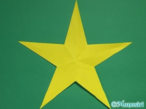 折り紙で星の切り方20