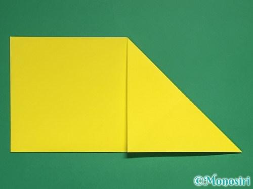 折り紙で星の切り方7