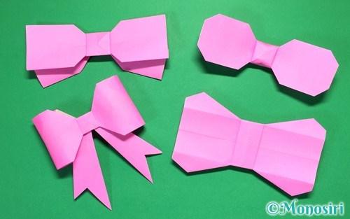 ハート 折り紙 折り紙 折り方 リボン : mono-siri.com