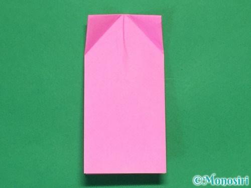 折り紙で可愛いリボンの折り方11