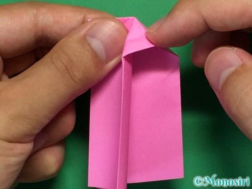 折り紙で可愛いリボンの折り方13