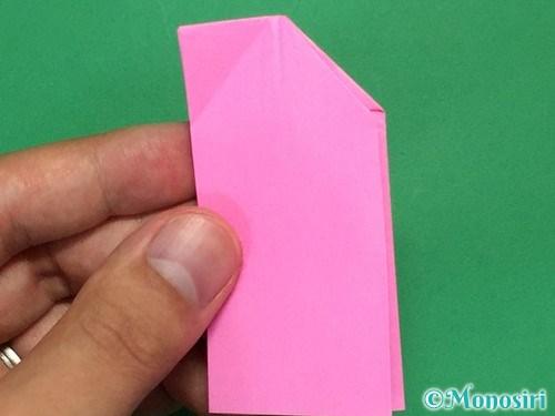 折り紙で可愛いリボンの折り方16
