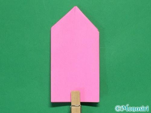 折り紙で可愛いリボンの折り方17