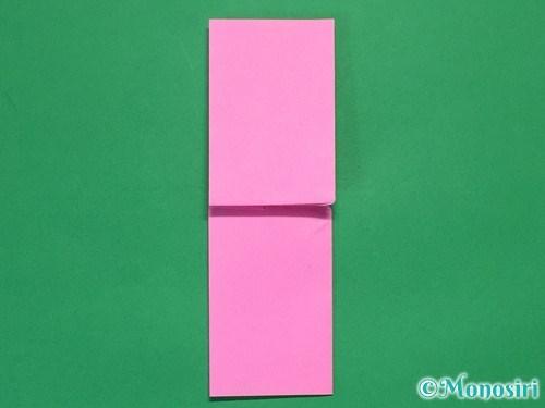 折り紙で可愛いリボンの折り方19