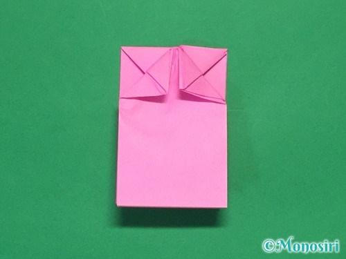 折り紙で可愛いリボンの折り方23