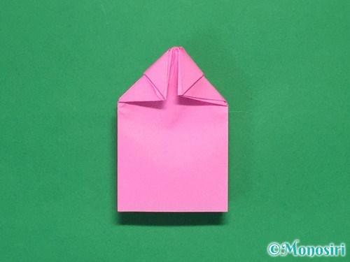折り紙で可愛いリボンの折り方24